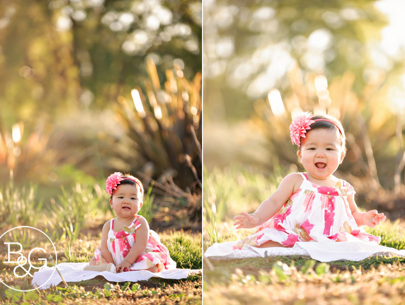Baby's 1st year portraits