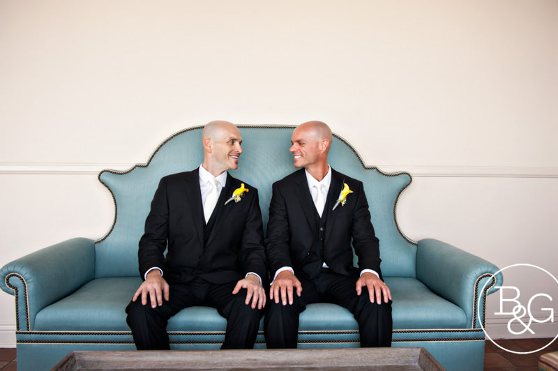 Bel Air Bay Club Wedding Same Sex Marriage Los Angeles Wedding Photographer