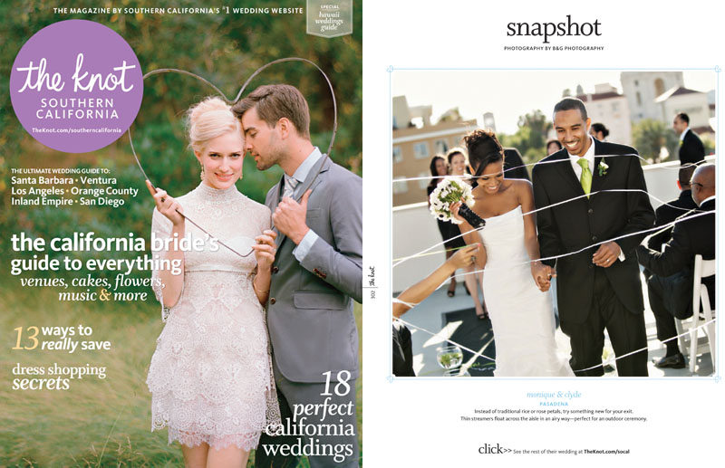 B&G Photography published in The Knot Southern California