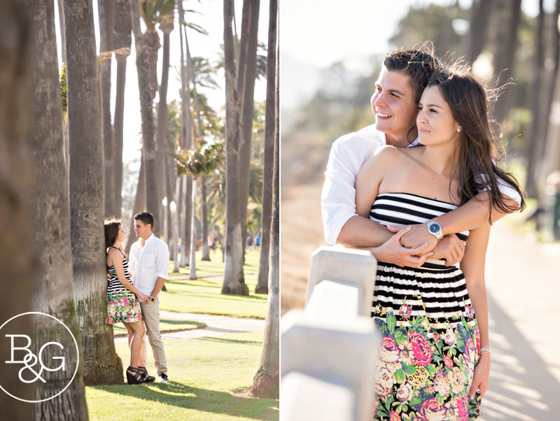 Jenny & Dane, Santa Monica Engagement Session
