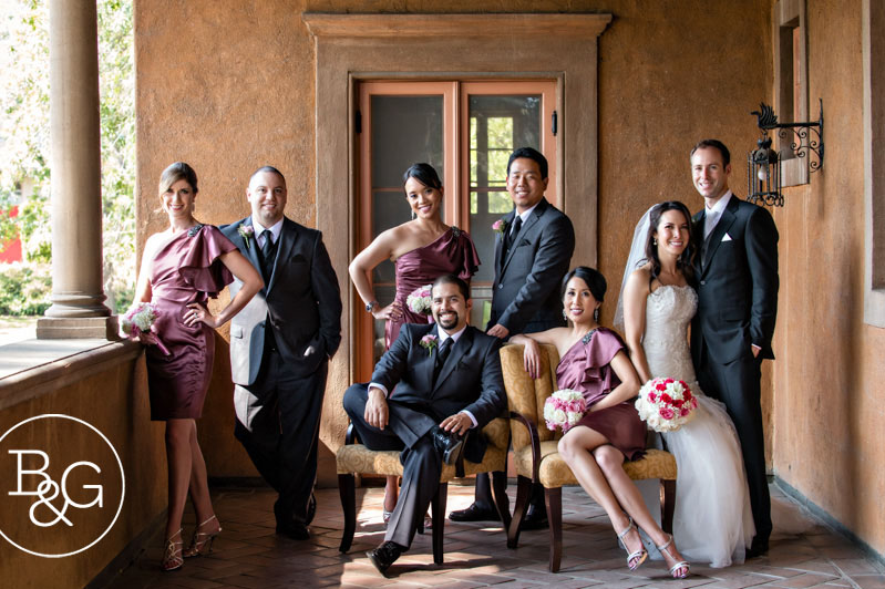 Chantel & David, Villa del Sol D'Oro Wedding, Los Angeles Wedding Photographer