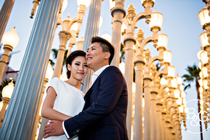 Kathryn & Will, LACMA Engagement Session, Los Angeles Wedding Photographer