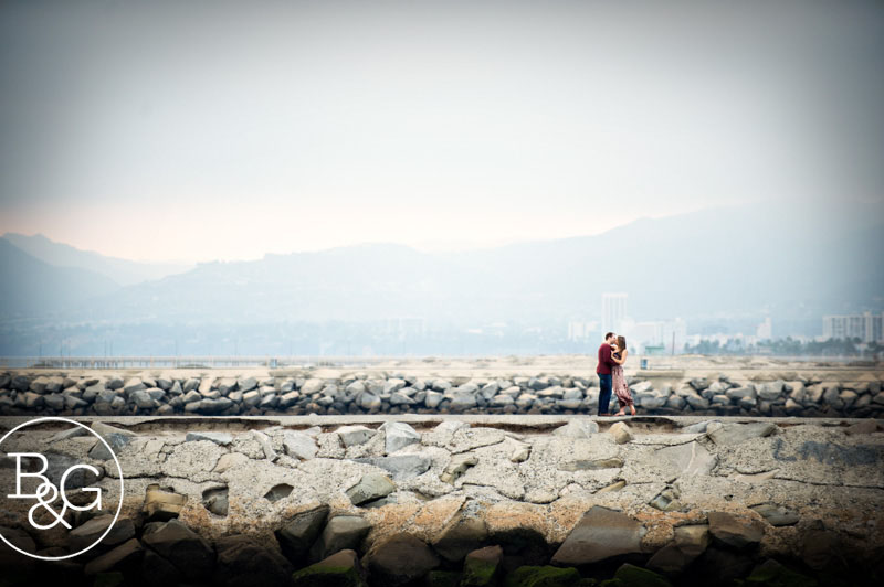 Lindsey & Jason, Playa Vista Engagement Session, Los Angeles Wedding Photographer