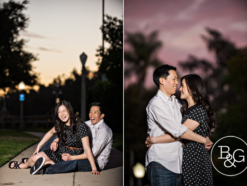 Joyce & Jonathan, Pasadena City Hall Engagement Session, Pasadena Wedding Photographer