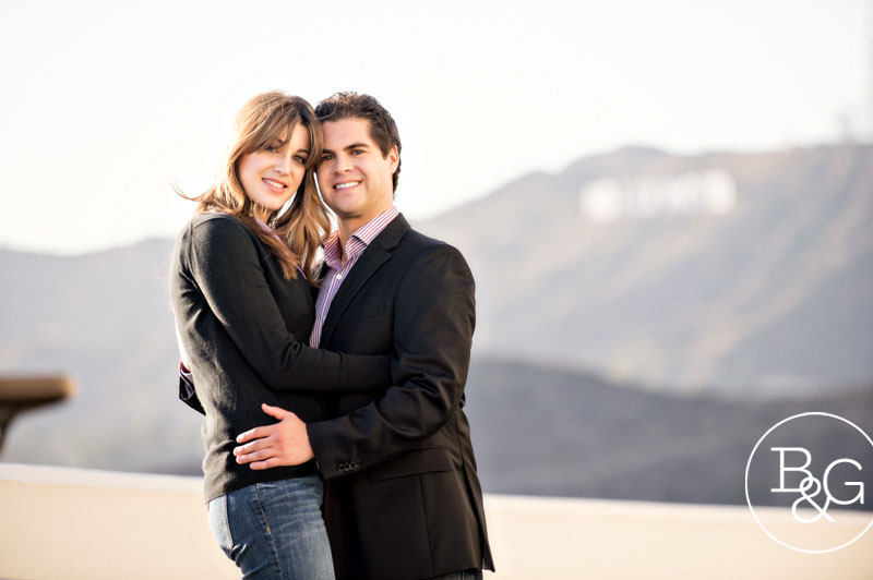 Gelsey & Steve, Griffith Observatory Engagement Session, Los Angeles Wedding Photographer