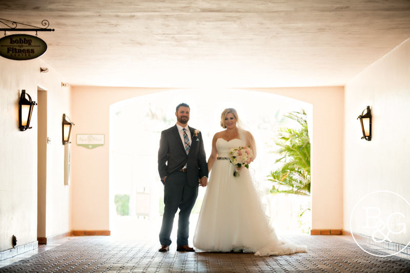 Krystal & Sean, The Fess Parker, Santa Barbara Wedding Photographer